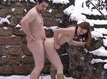 Winter outdoor! Rumgeficke im Schnee